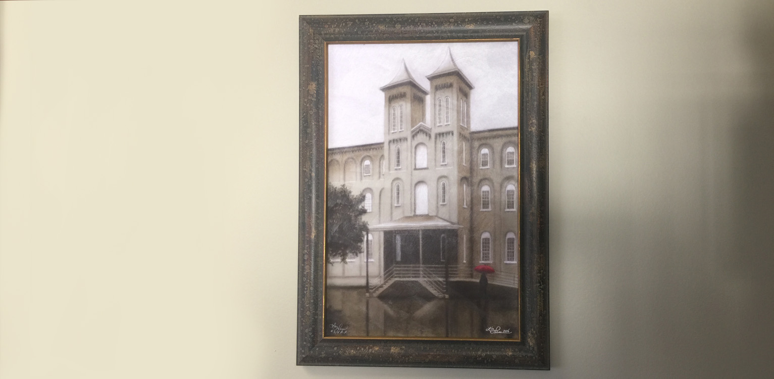 Liz hess art prints of kuhns hall sponsor kristyandbryce Image collections