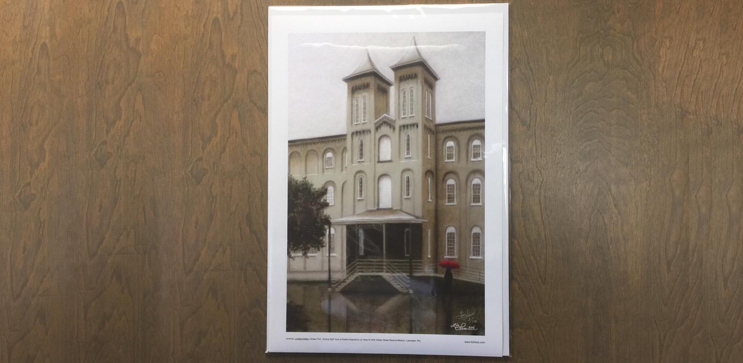 Liz hess art prints of kuhns hall kristyandbryce Image collections